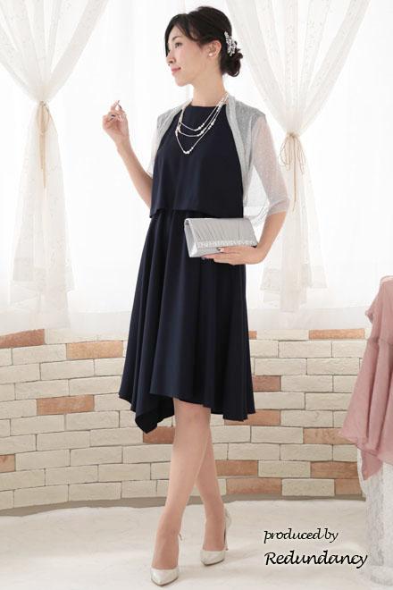 ネイビードレス」