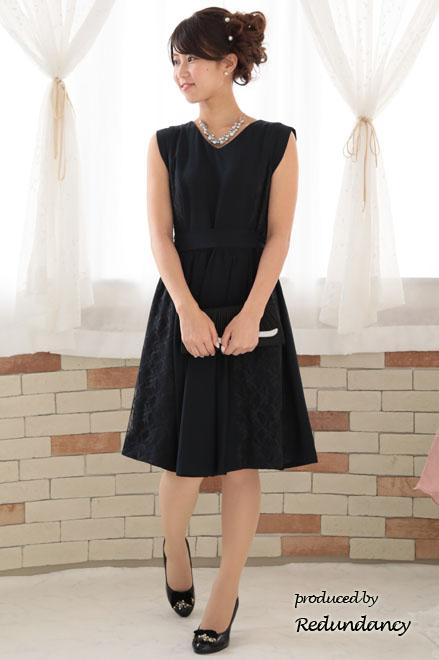 ドレスで一番人気の色、王道ネイビーのパーティードレス│Party